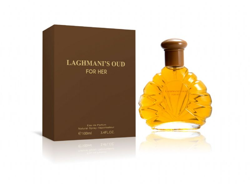 LAGHMANI'S OUD FOR HER (BROWN) E100ML FP8048